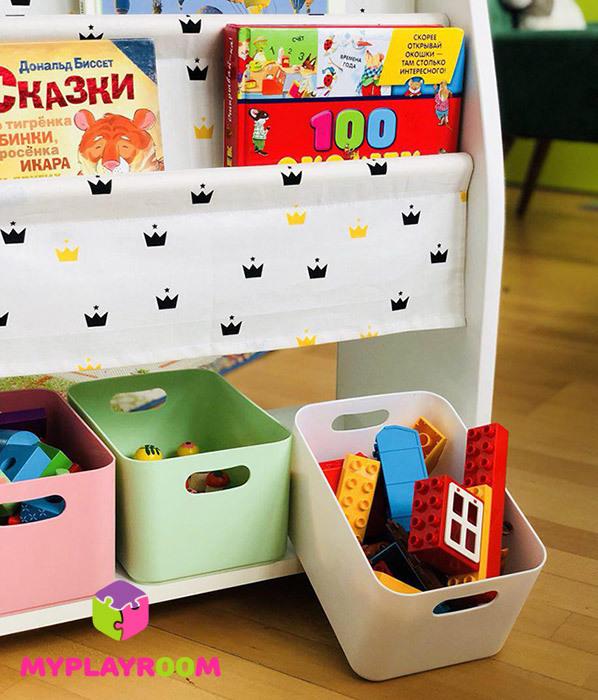 контейнеры для хранения игрушек, пособий и конструкторов