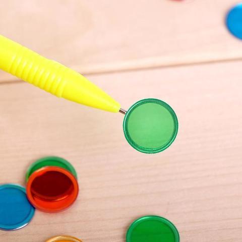 Обучающая игра с магнитными фишками и ручкой 2