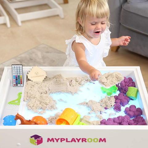 Световая песочница MYPLAYROOM™ с короткой столешницей 3