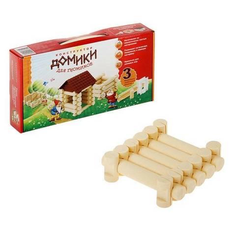 """Игра-конструктор """"Домик для гномика"""", 3 комбинации"""