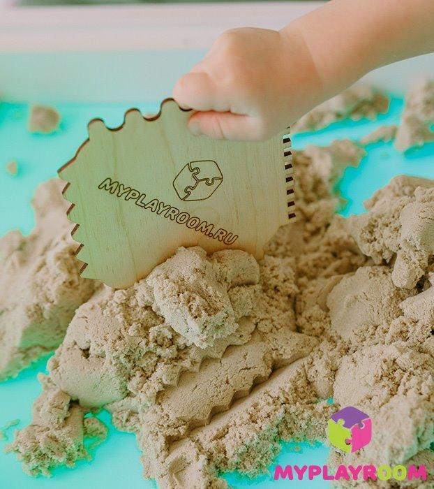 Кинетический / космический песок