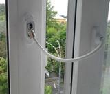 Детский ограничитель открывания окна с тросом
