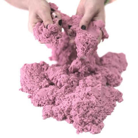 Космический песок 3 кг, розовый 3