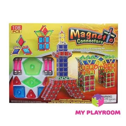 """Магнитный конструктор """"MAGNETIC"""", 108 деталей"""