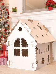 Картонный домик-конструктор