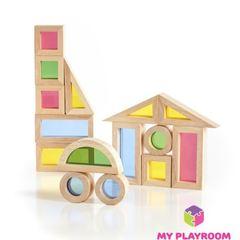 Конструктор Радужные блоки (Rainbow blocks), 20 деталей