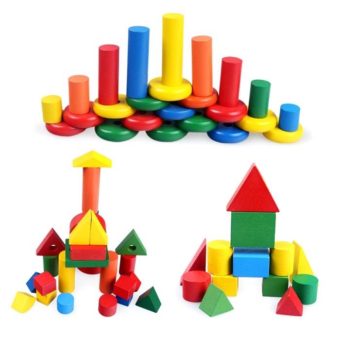 Набор детской геометрии Монтессори