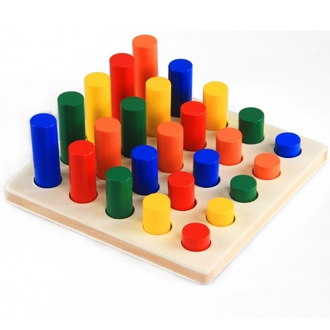 Набор Монтессори-материалов, 8 предметов 4