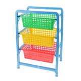 Органайзер для игрушек с 3 выдвижными корзинами 1
