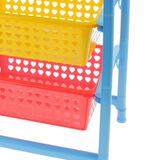 Органайзер для игрушек с 3 выдвижными корзинами 2
