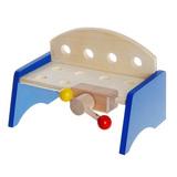 Детский верстак с набором инструментов, 9 предметов 2