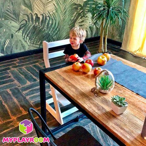 Растущий стул N1 MYPLAYROOM™ к обеденному столу 7