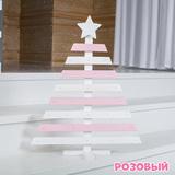 Деревянная новогодняя АДВЕНТ ЁЛОЧКА (3 расцветки) 4