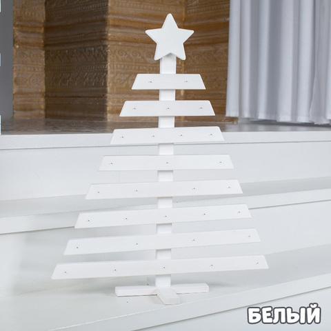 Деревянная новогодняя АДВЕНТ ЁЛОЧКА (3 расцветки) 3