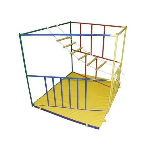Верёвочная лестница короткая 6