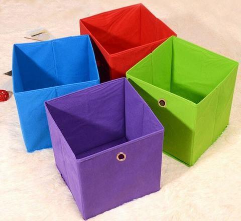 """Корзина-куб для хранения """"Ассорти"""""""