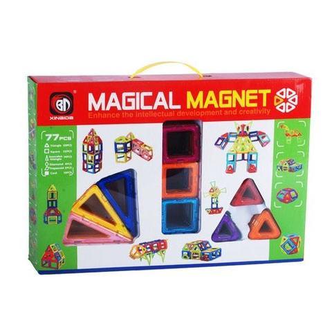 """Магнитный конструктор """"Magical magnet"""" 77 деталей"""
