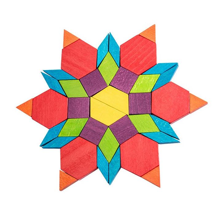 деревянная мозаика игрушка