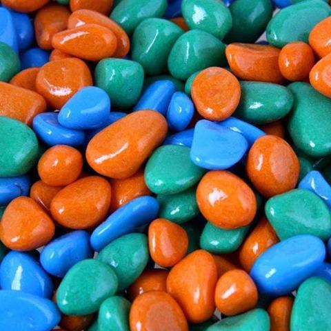 """Набор цветных камешков для песочницы """"Аква"""""""