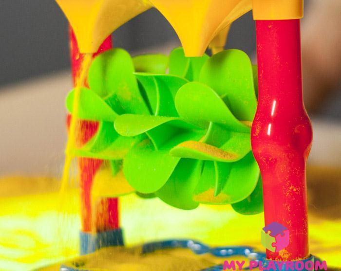Игры с песком и песочной мельницей на световом планшете Myplayroom.ru