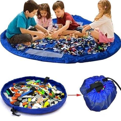 Большая сумка-коврик для LEGO и игрушек, 1.5 метра