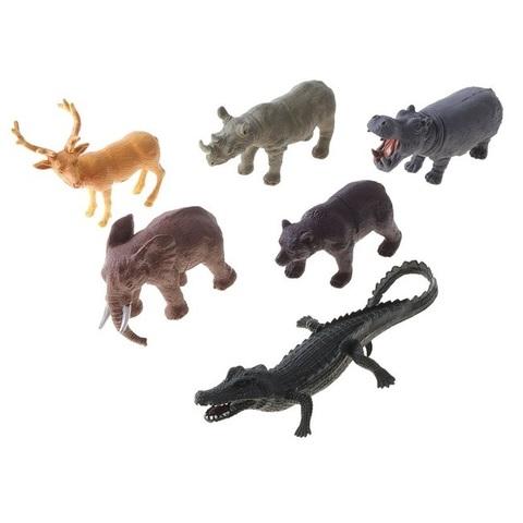 """Игровой набор """"Дикие животные"""", 6 фигурок"""