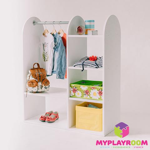Детский гардероб в духе Монтессори