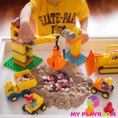 Стол песочница для игры с песком 4 в 1 10