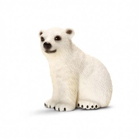 """Фигурка """"Белый медведь, детеныш"""", Schleich"""