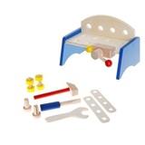 Детский верстак с набором инструментов, 9 предметов 1