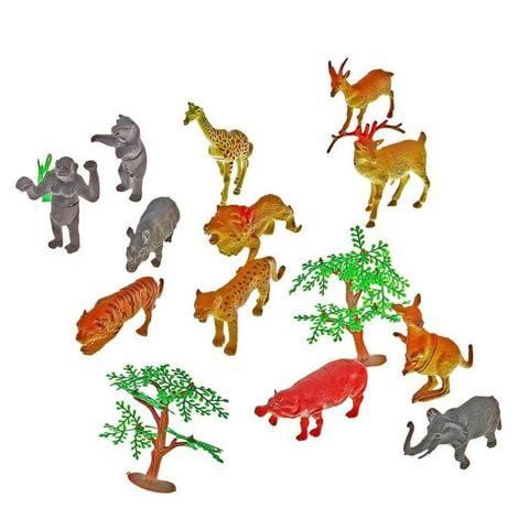 """Игровой набор животных """"Африка"""", 12 фигурок"""