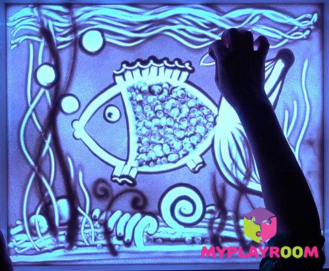 Уроки рисования песком и арт-терапия 7