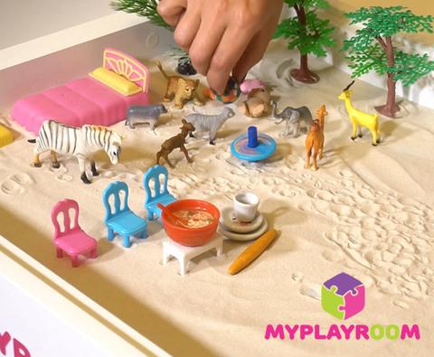 Уроки рисования песком и арт-терапия 9
