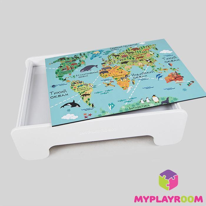 Сенсорный столик MYPLAYROOM™ для малышей с картой мира
