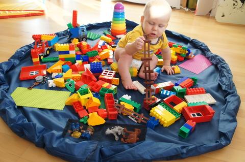 Большая сумка-коврик для LEGO и игрушек, 1.5 метра 3