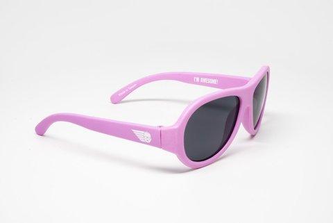"""Детские солнцезащитные очки Babiators Original Aviator """"Розовая принцесса"""", (0-2 года)"""