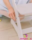 Растущий стульчик MYPLAYROOM™ к песочнице, розовый 10