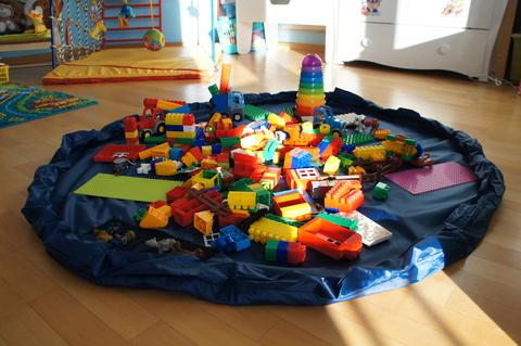 Большая сумка-коврик для LEGO и игрушек, 1.5 метра 2