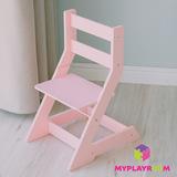 Растущий стульчик MYPLAYROOM™ к песочнице, розовый 6