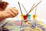 Краска для Эбру фиолетовая 40 мл 2