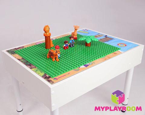 Световая песочница для LEGO от MYPLAYROOM™ с длинной столешницей 7в1 5