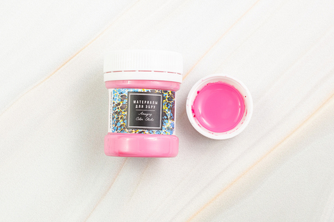 Краска для Эбру розовая 40 мл