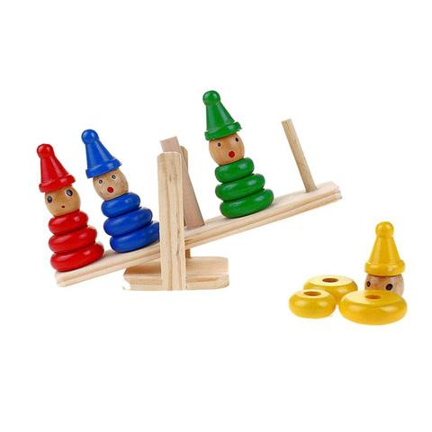 """Логическая игрушка-пирамидка """"Весы"""""""