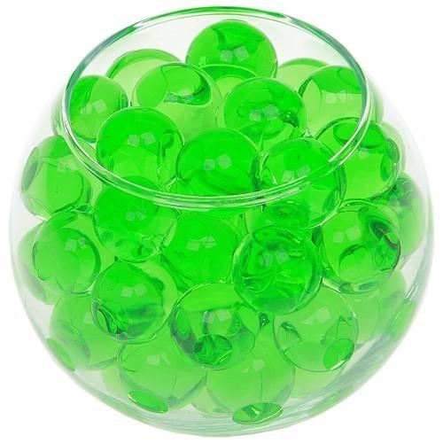 Гидрогелевые шарики зеленые Лиственный лес, 100 шт купить для игр