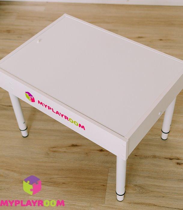 Белая крышка для стола myplayroom