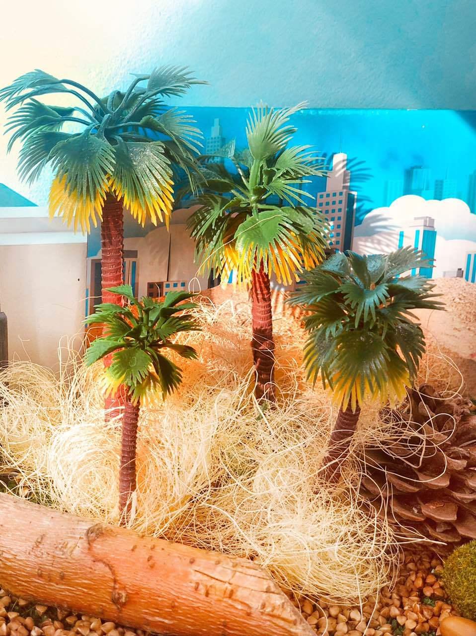 Пальма для сенсорных коробок