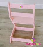 Растущий стульчик MYPLAYROOM™ к песочнице, розовый 9