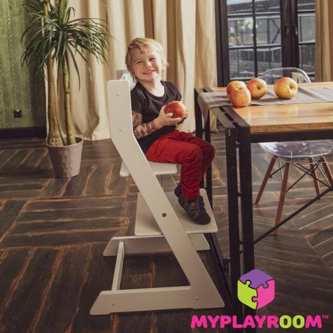 высокий стул для ребенка за общий стол купить в москве