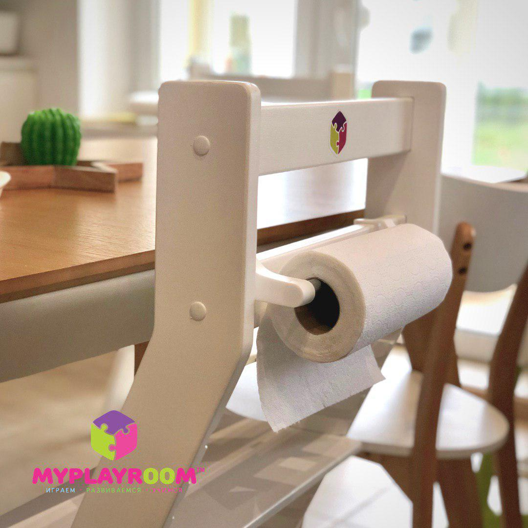 держатель для полотенец съёмный на спинку растущего детского стула