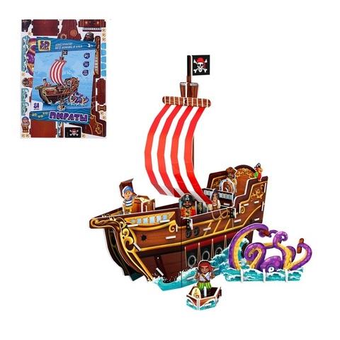 """Конструктор 3D """"Пиратский корабль - МАКСИ"""""""